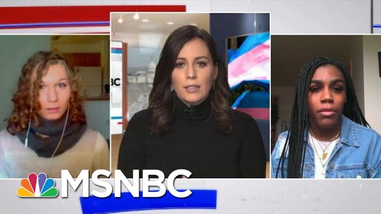 States Considering Bills To Ban Transgender Athletes From Competing | Hallie Jackson | MSNBC 1