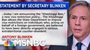 State Dept. Issues Response To Intelligence Report Findings On Khashoggi's Murder | Katy Tur | MSNBC 4