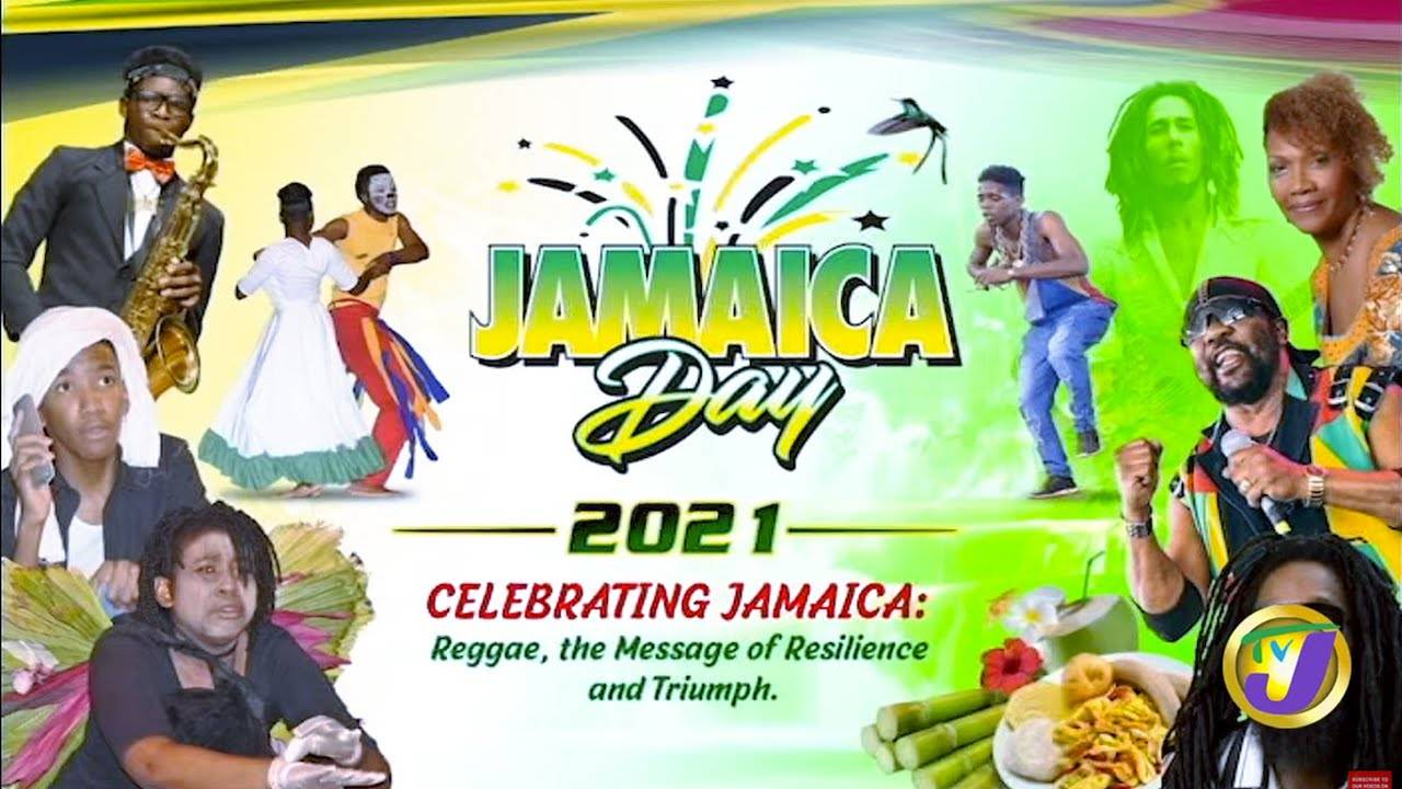 Jamaica Day 2021 - Celebrating Jamaica Reggae, the Message of Resilience and Triumph. 1
