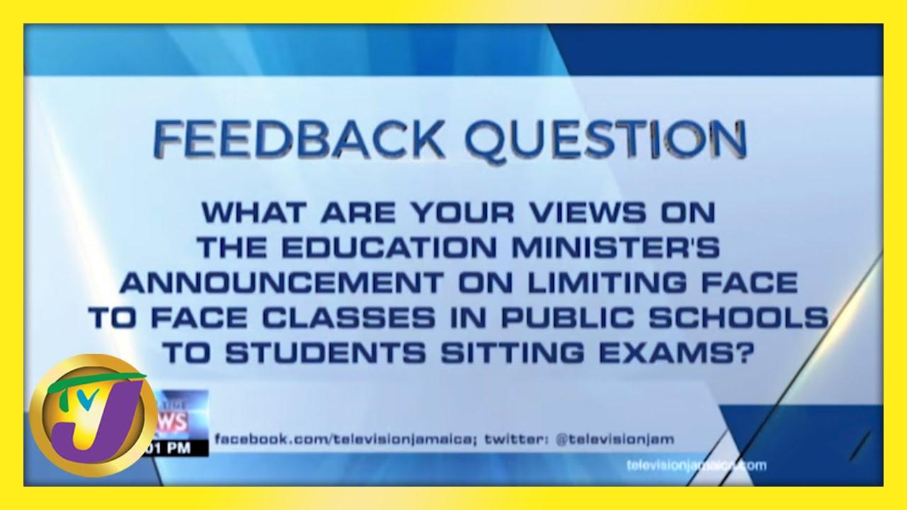 Feedback Question   TVJ News - February 25 2021 1