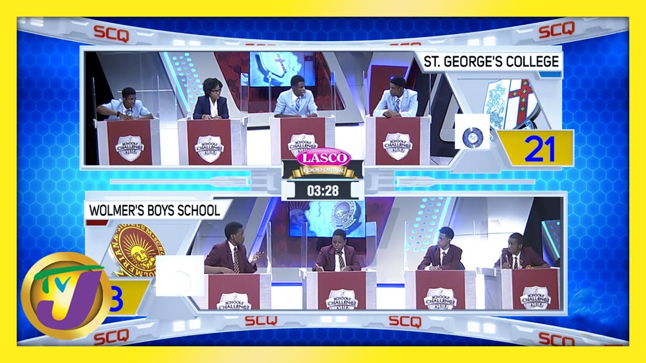St. George's College vs Wolmer's Boys School: TVJ SCQ 2021 - February 25 2021 1
