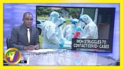 Jamaica's Health Ministry Struggles to do Contract Tracing | TVJ News - February 25 2021 9