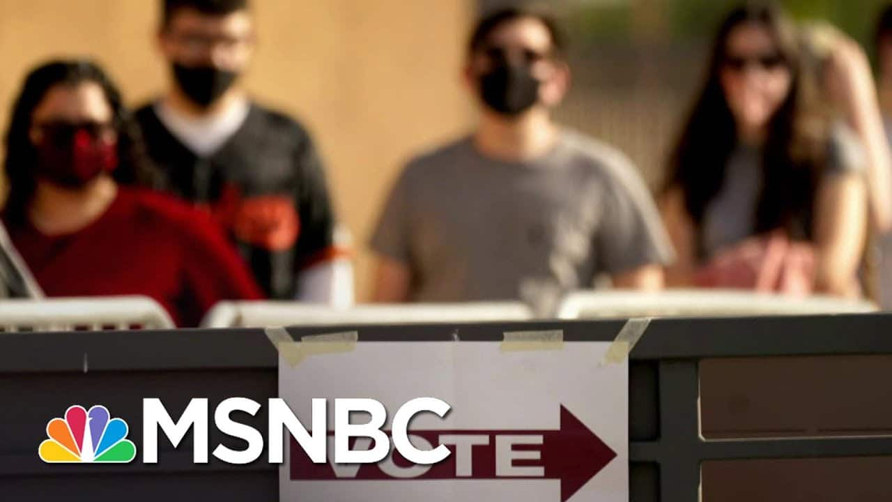 GOP Bill Could Give Arizona Legislature Power To Overturn Election Results   The Last Word   MSNBC 1