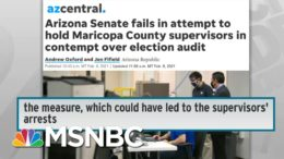 Republican Freakout Over 2020 Election Losses Sparks War On Voting In Several States | Rachel Maddow 9