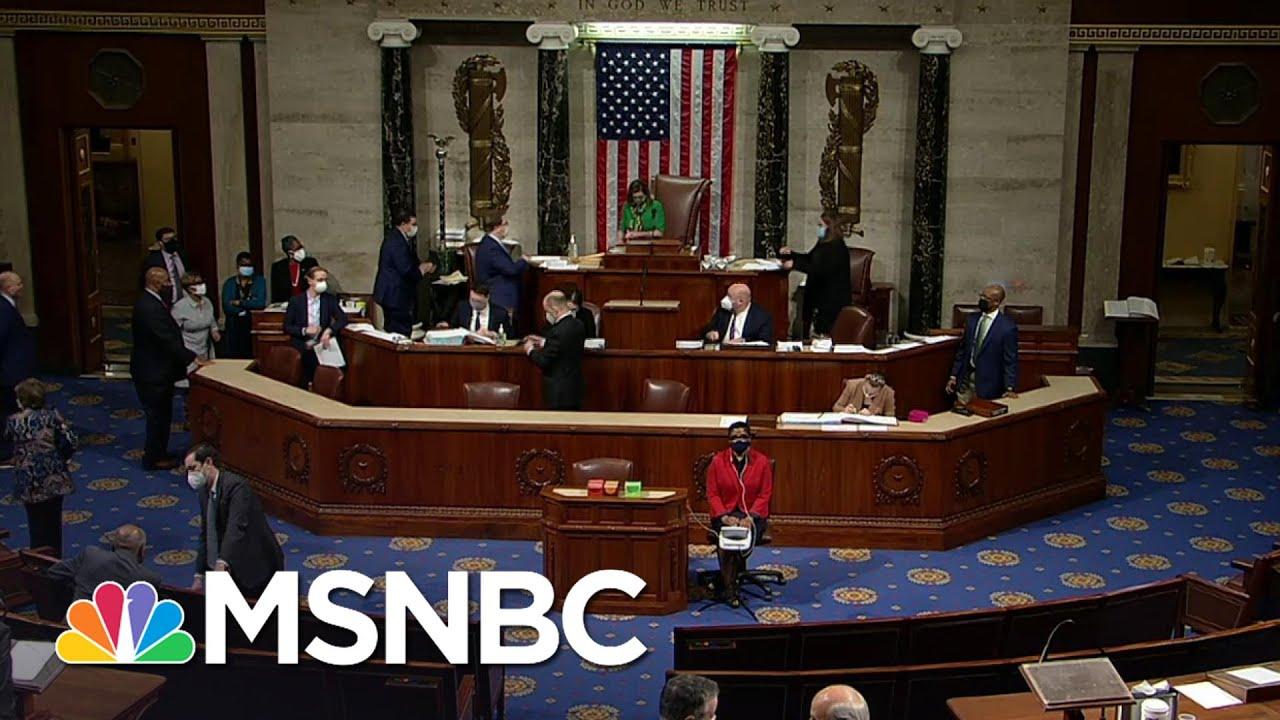 House Passes Biden's $1.9 Trillion Relief Package   MSNBC 1