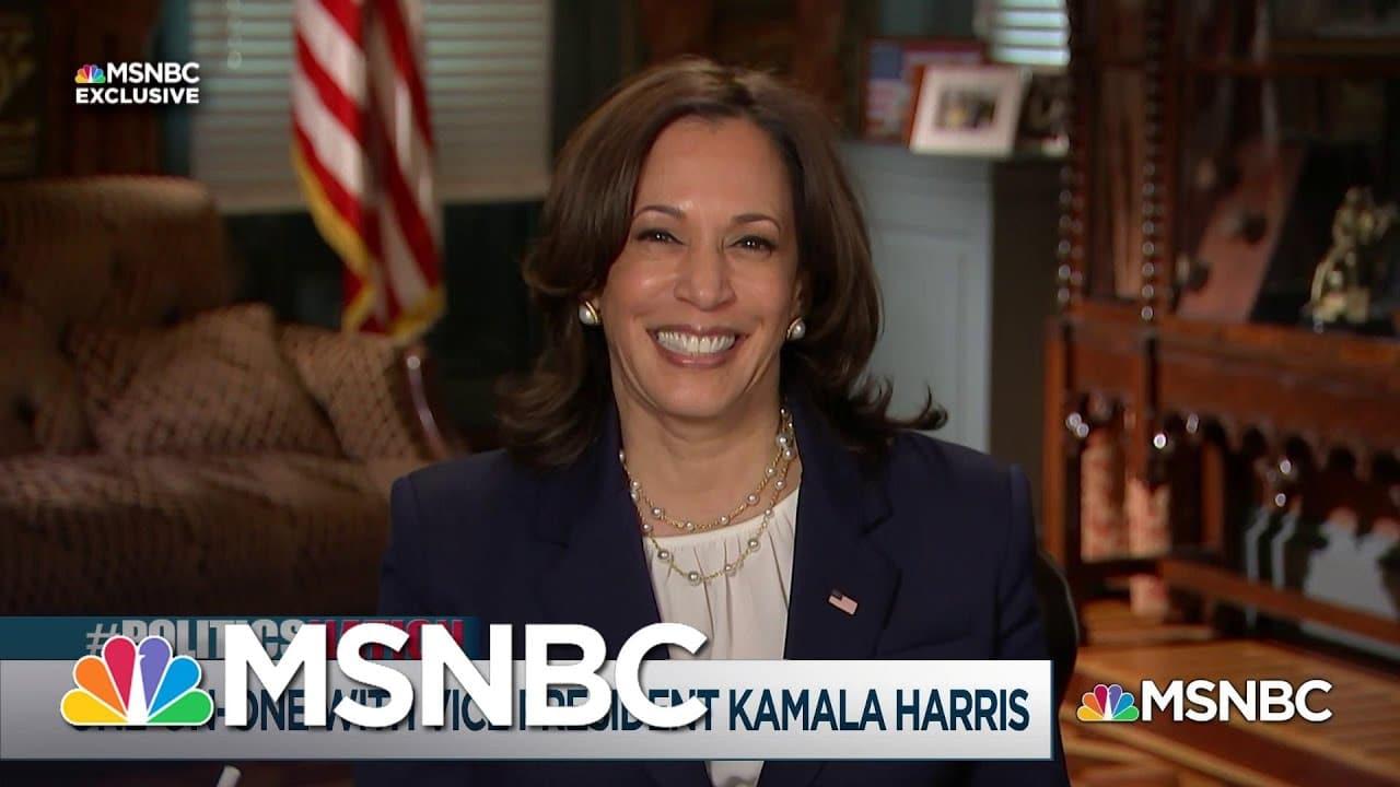 Rev. Al Sharpton's Exclusive Interview with Vice President Kamala Harris   MSNBC 1