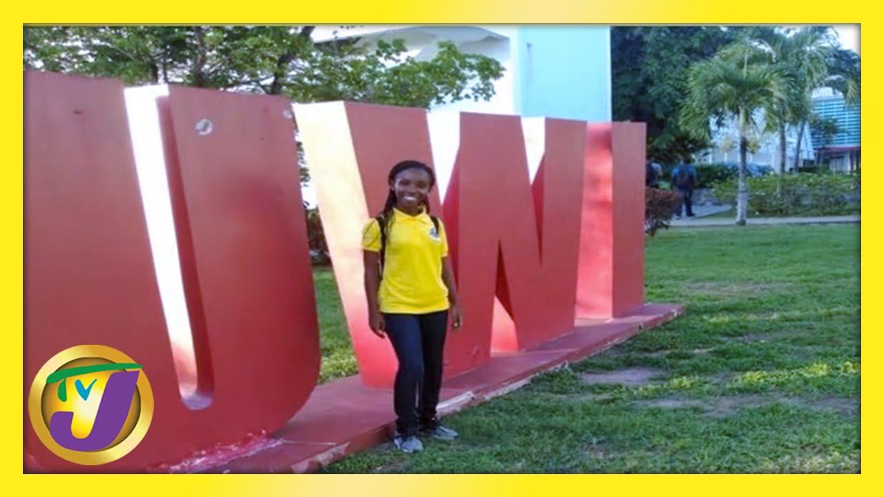 19yr Old Cops Seven Scholarships - Crystina Perkins: TVJ Smile Jamaica 1