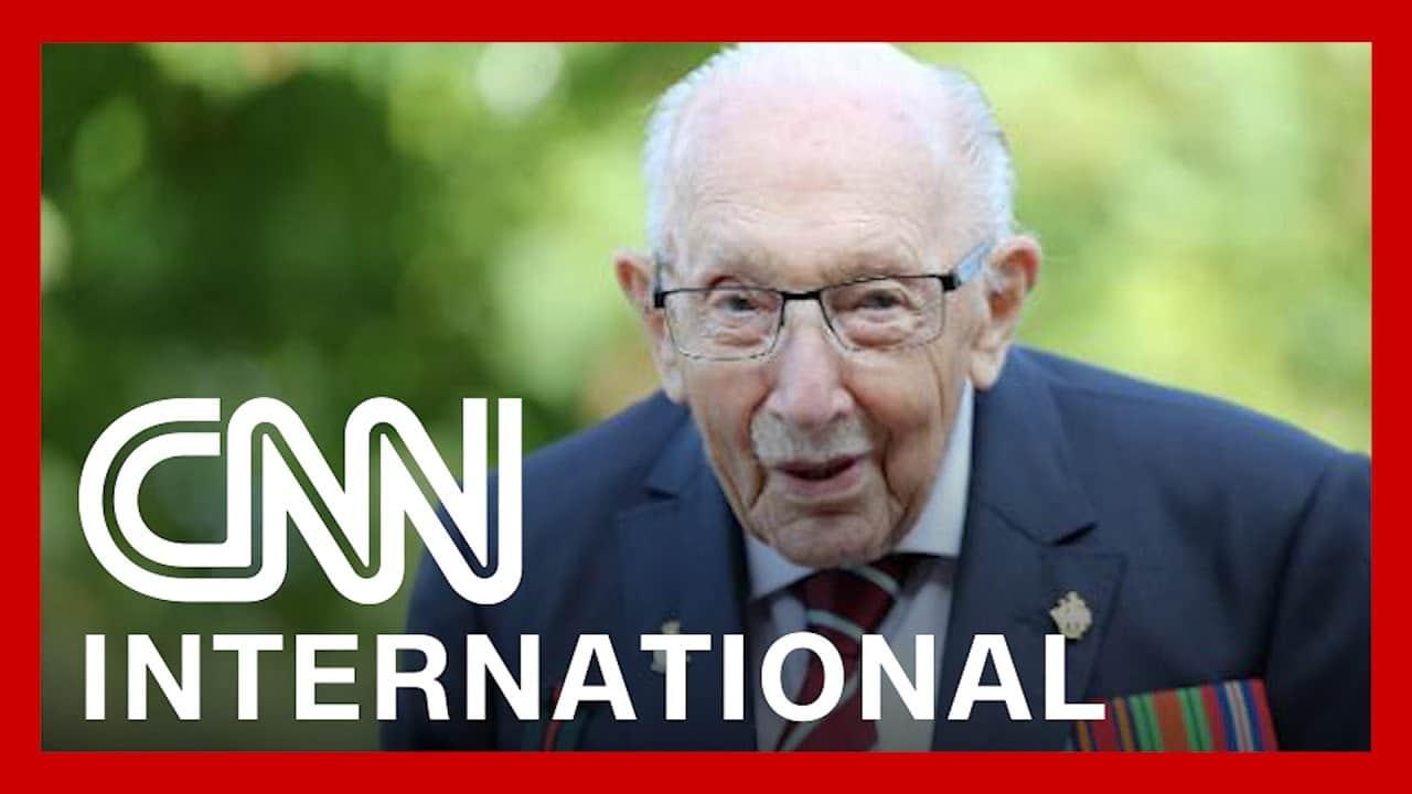 CNNi: WWII vet who raised millions amid pandemic dies at 100 5