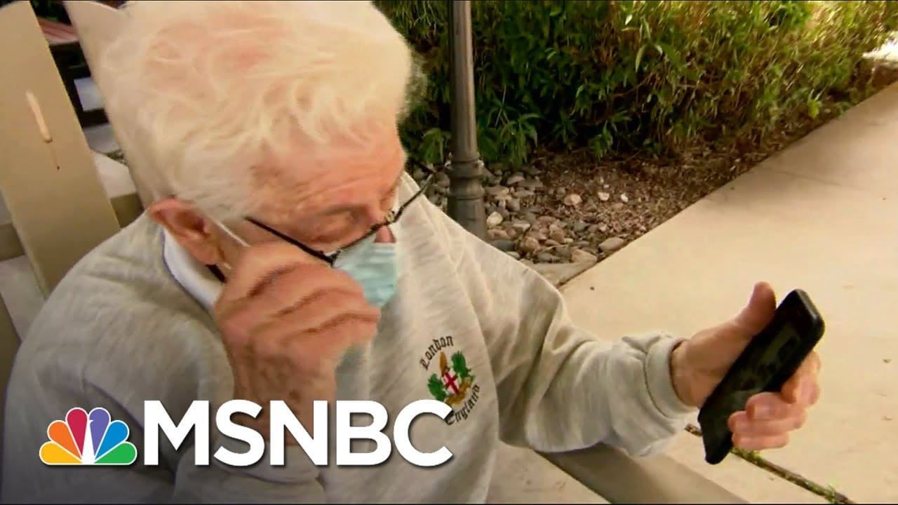 This is a reunion in the making. | Vaughn Hillyard | MSNBC 1