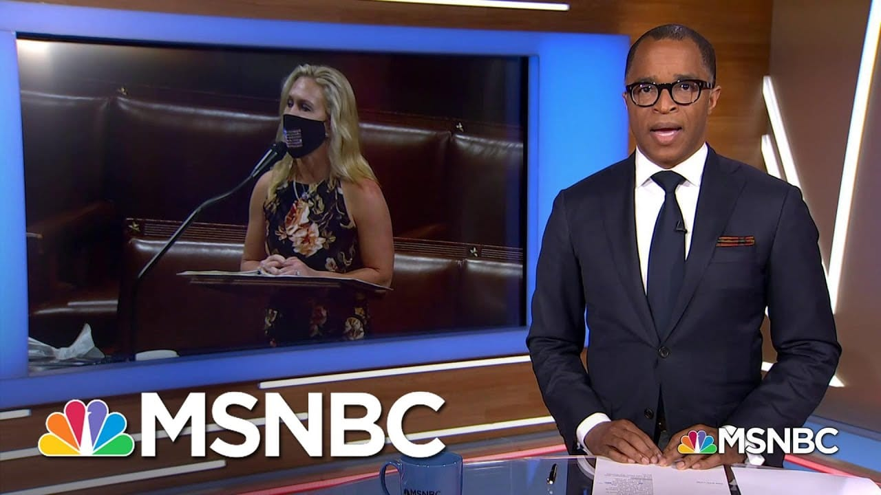 Capehart Condemns Marjorie Taylor Greene's Transphobic Speech Against Equality Act | MSNBC 6