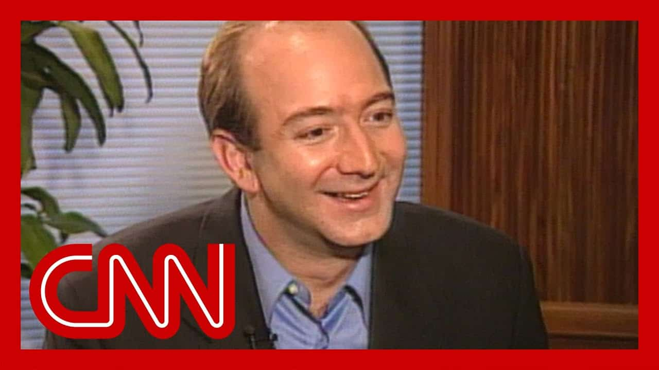 In 1999 Jeff Bezos told CNN this about Amazon's success 7