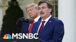 MyPillow Fight: Lindell Clashes With Newsmax Over Trump's 2020 Loss | The 11th Hour | MSNBC 1