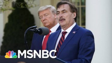 MyPillow Fight: Lindell Clashes With Newsmax Over Trump's 2020 Loss   The 11th Hour   MSNBC 10
