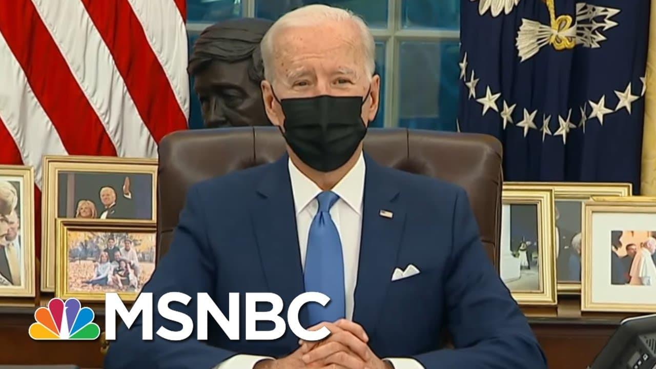 Biden Creates Task Force To Undo 'Shame' Of Trump Family Separation Policy | Rachel Maddow | MSNBC 5