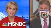Sen. Manchin Calls For Bipartisanship On Covid Relief Plan | Morning Joe | MSNBC 4