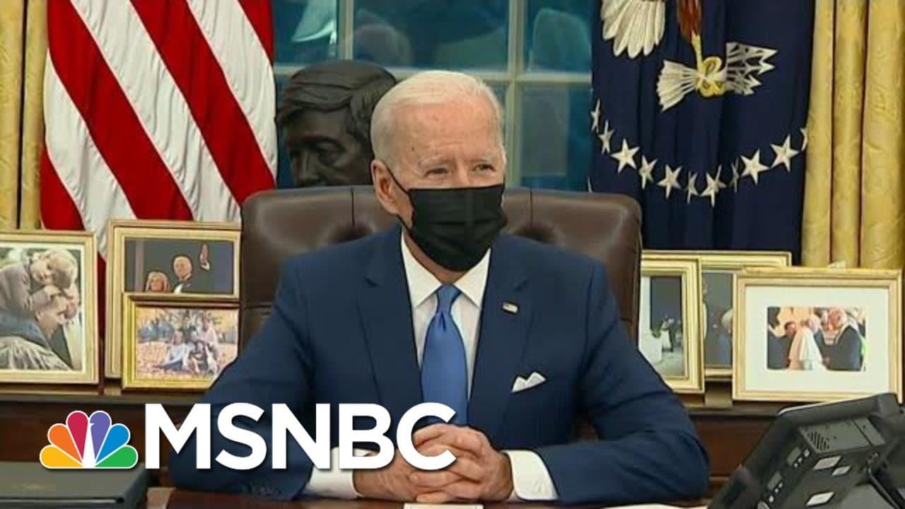 Biden Faces Pressure To Reunite Separated Families | Morning Joe | MSNBC 4