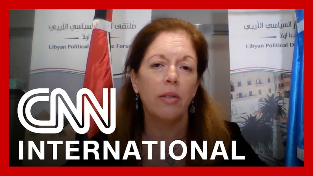 CNNi: Hear from UN official mediating Libya peace talks 1