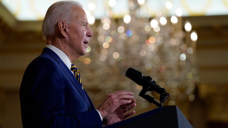 Biden: America can't afford to be absent on the world stage 1