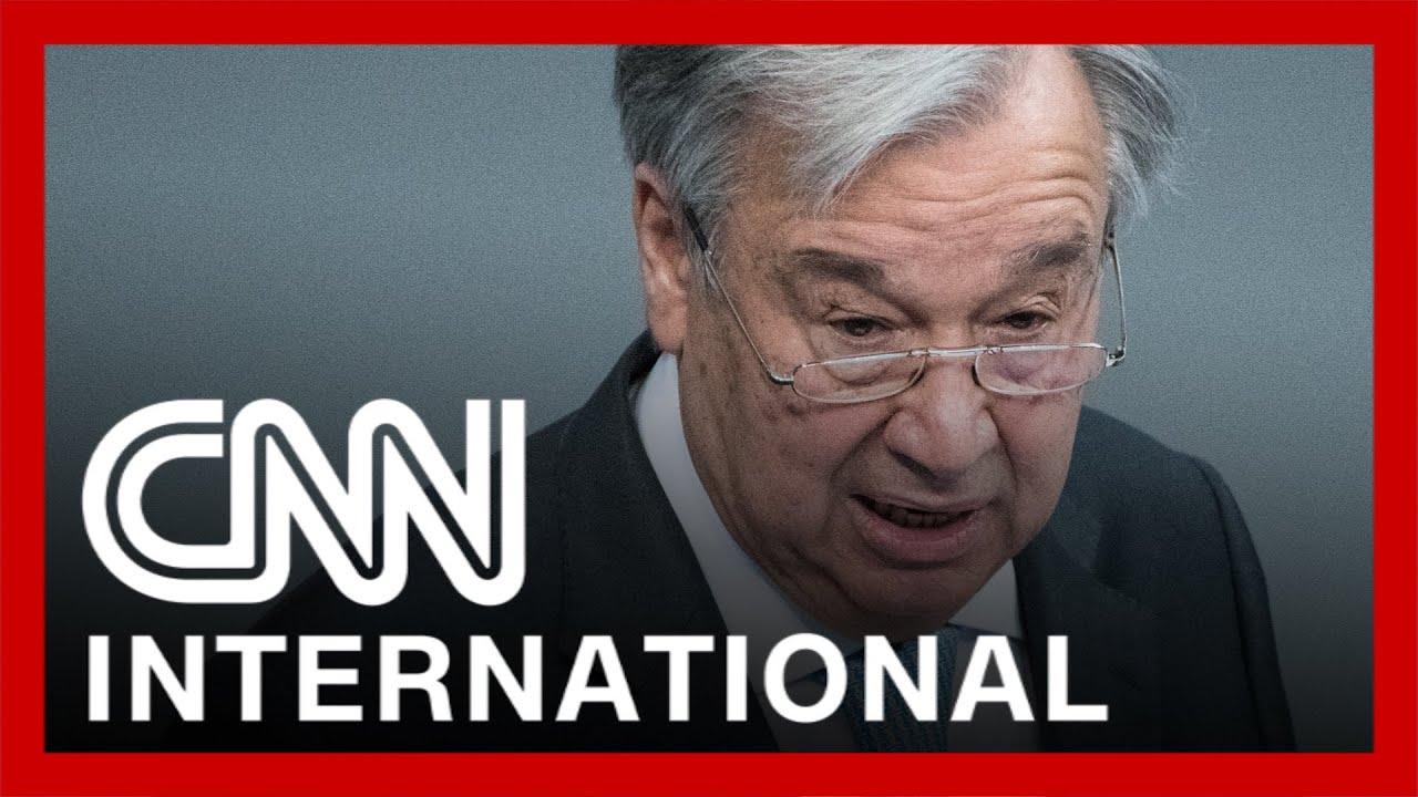 CNNi: UN Secretary General sounds warning on vaccine inequity 1