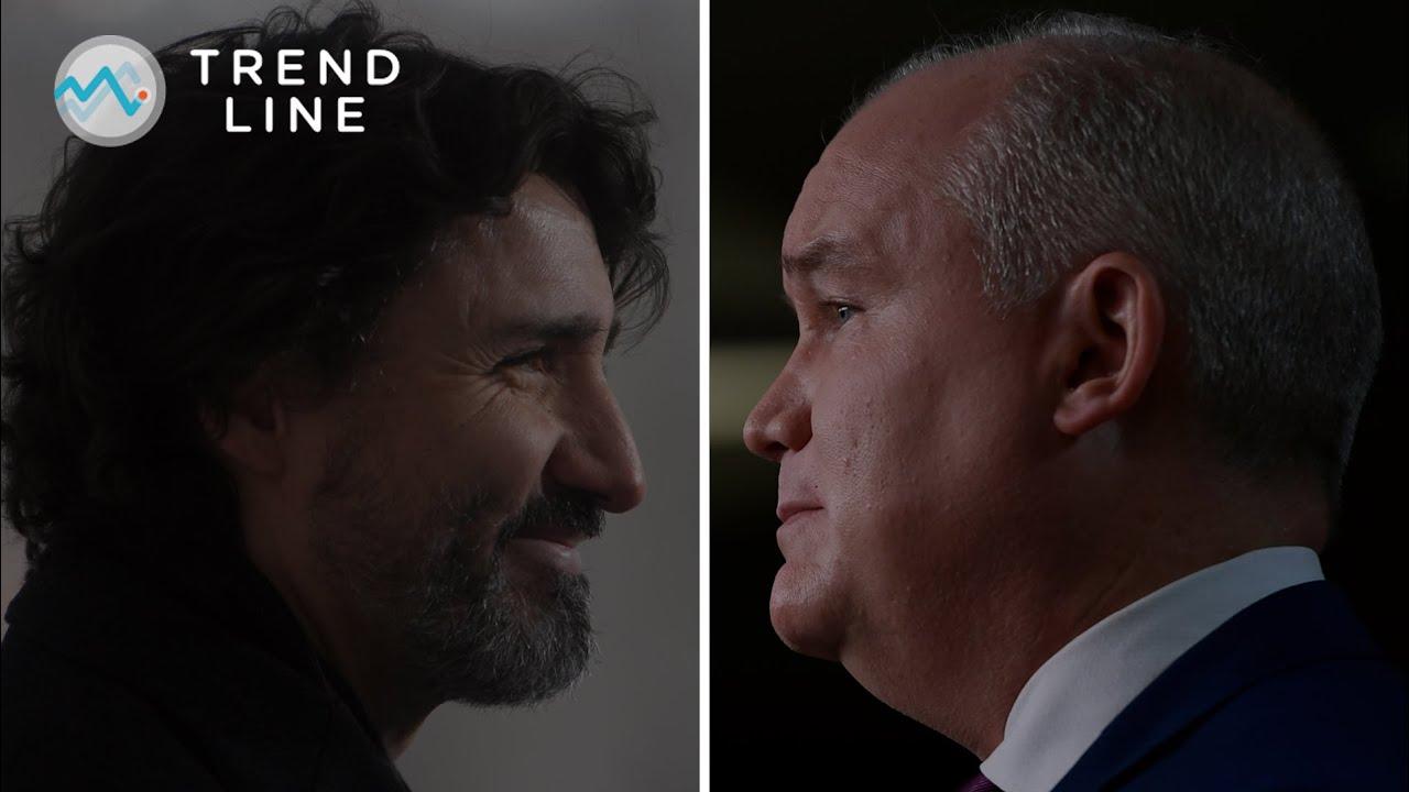 Trudeau vs. O'Toole: Nanos explains how the Tory leader is closing the popularity gap | TREND LINE 3