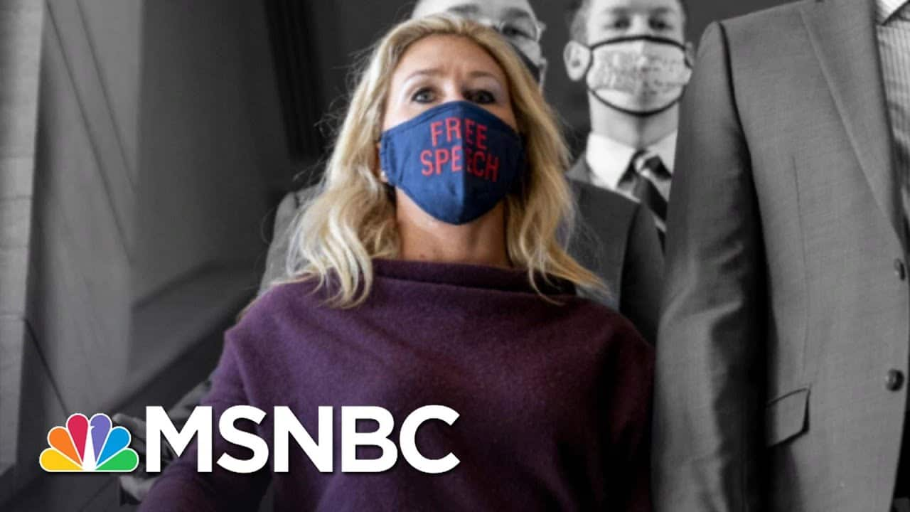 No Apology From Greene As House Removes Her From Committees   The 11th Hour   MSNBC 1