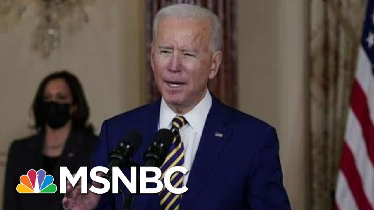Biden Approval Stands At 61 Percent In New Polling | Morning Joe | MSNBC 1