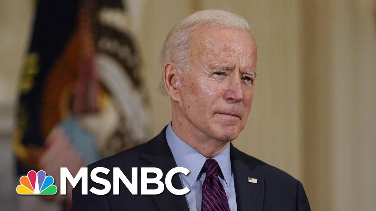 Biden Outlines His American Rescue Plan For Economic Relief   MSNBC 1
