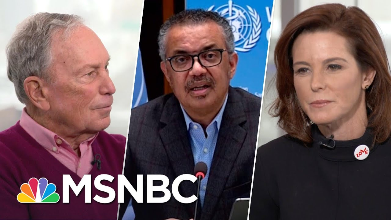 WHO Glad To Be Working With U.S. Administration Again: 'It's Not About The Money' | Stephanie Ruhle 1