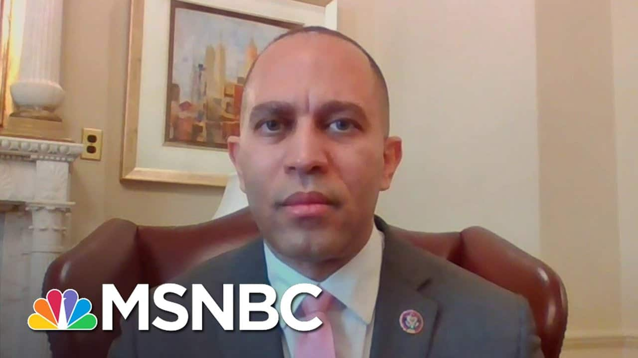 Rep. Jeffries: 'We Are Prepared To Move Toward Reconciliation If Necessary' On Relief | MSNBC 1