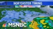 More Than 100 Million Under Warnings For Massive Winter Storm | Katy Tur | MSNBC 3