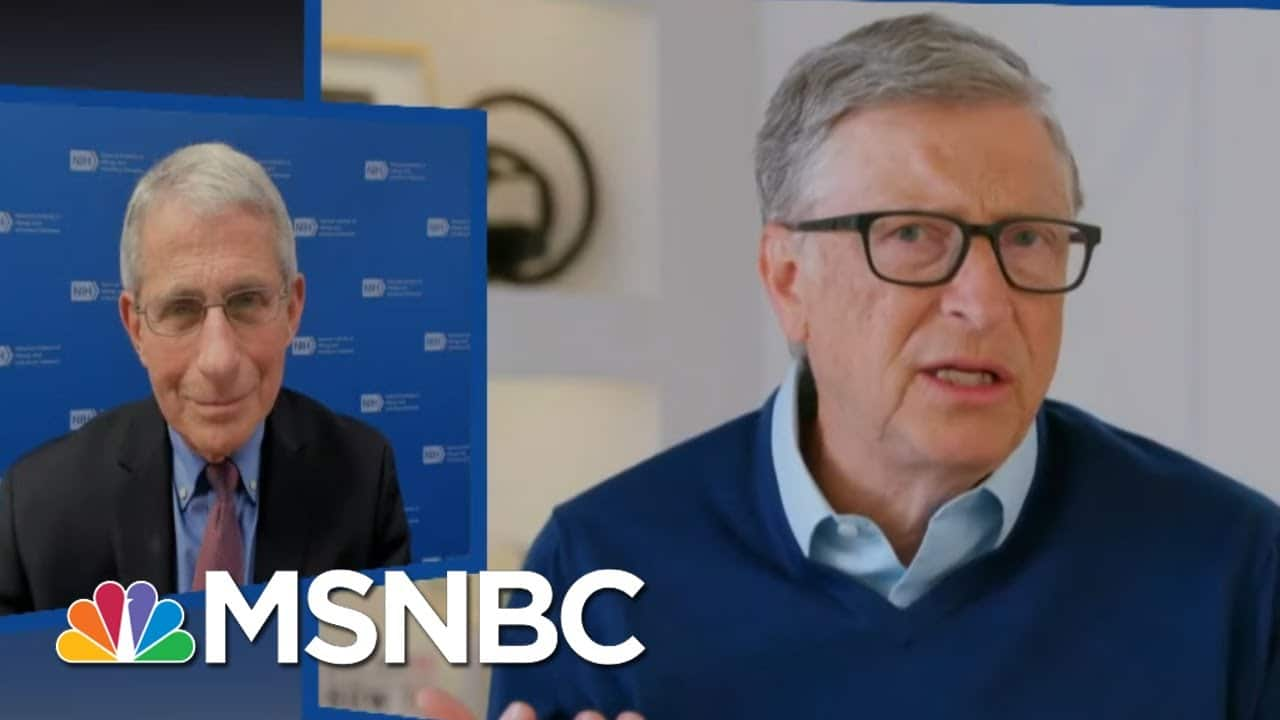 'Get Serious!': See Dr. Fauci Dismiss Liars Attacking Him And Bill Gates | The Beat With Ari Melber 1