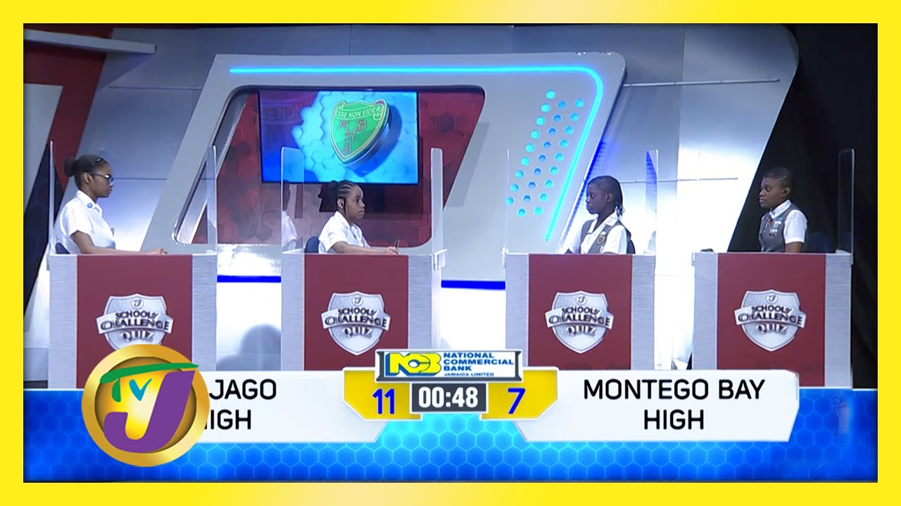 St. Jago High vs Montego Bay High: TVJ SCQ 2021 - February 4 2021 1