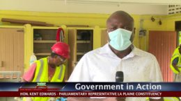 GOVERNMENT IN ACTION - Rehabilitation of Delices Primary School 1