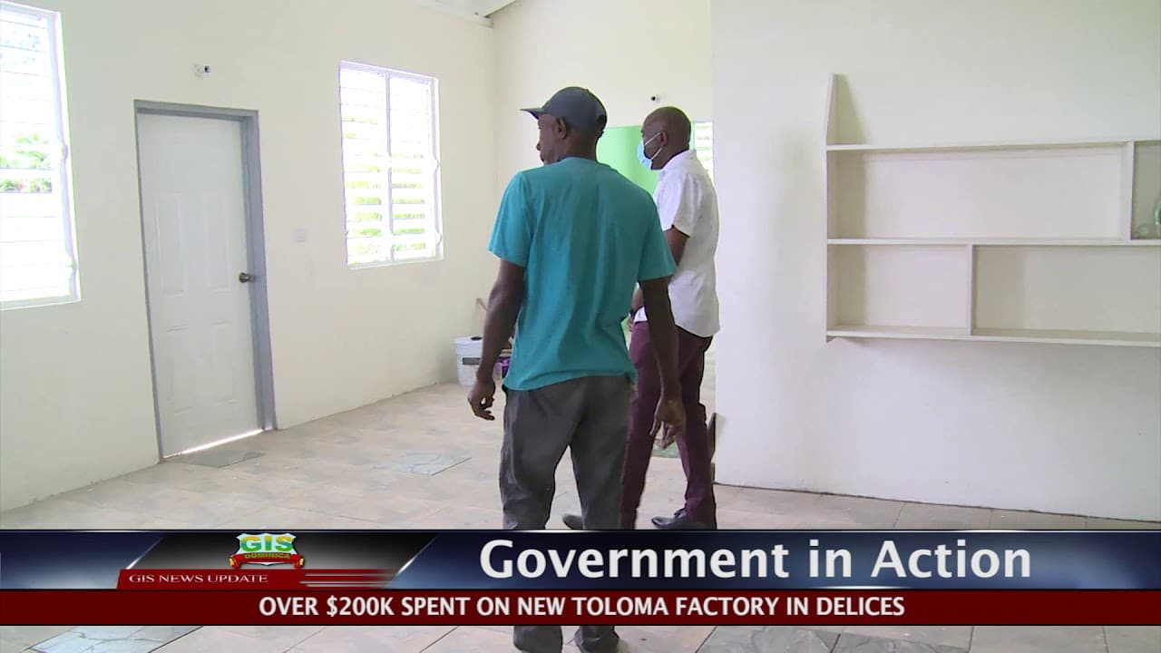 GOVERNMENT IN ACTION - Delices Toloma Factory 1