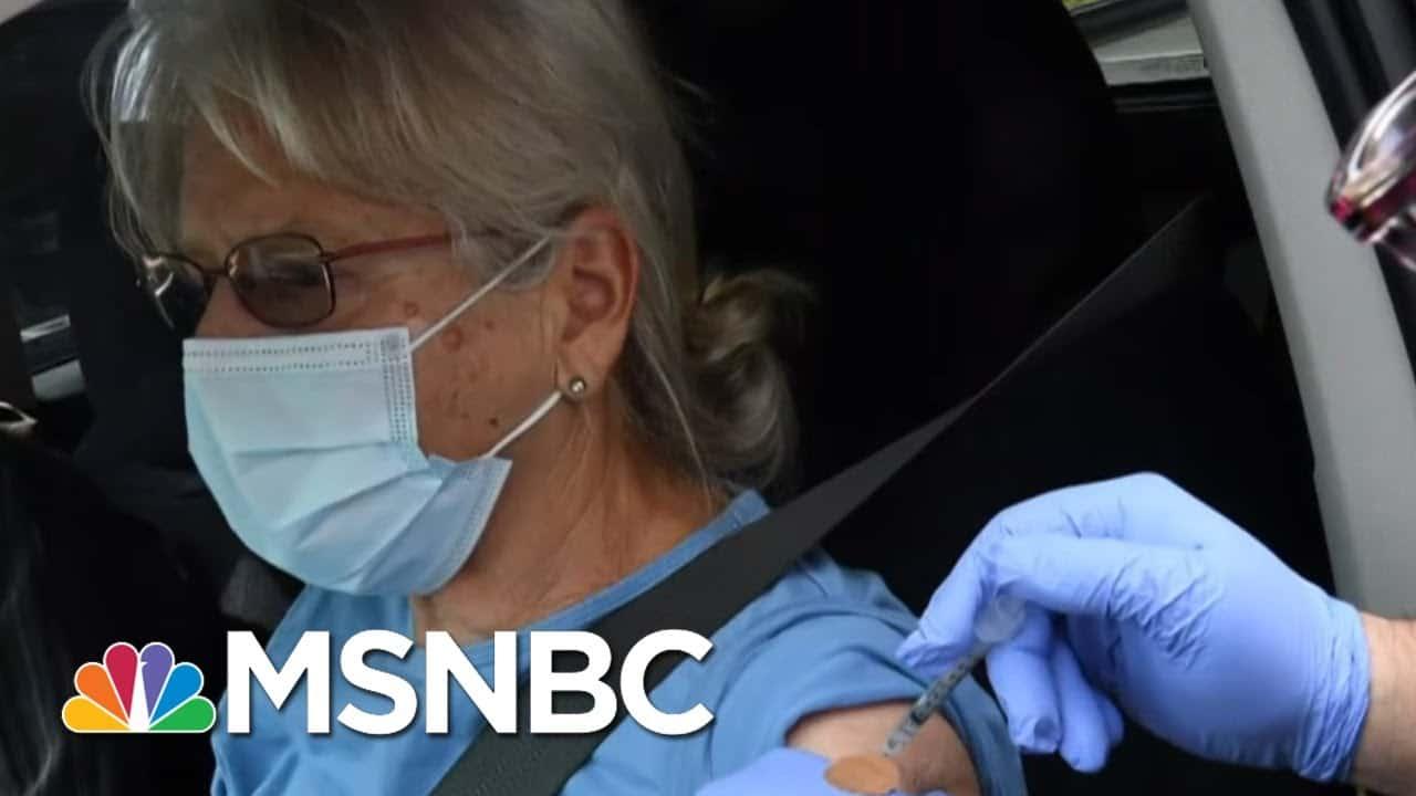 Racial Disparities Already Taking Shape In Covid Vaccination Rates   Rachel Maddow   MSNBC 1