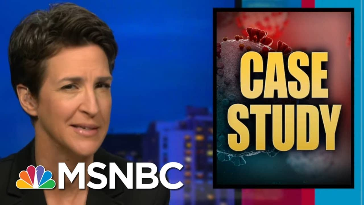 Trump Admin Paid Scammer Millions For Desperately Needed Masks He Never Delivered   Rachel Maddow 1