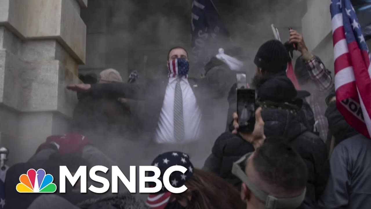 Ongoing Threat From Trump Supporters, Anti-Government Anarchists Analyzed By Experts | MSNBC 1