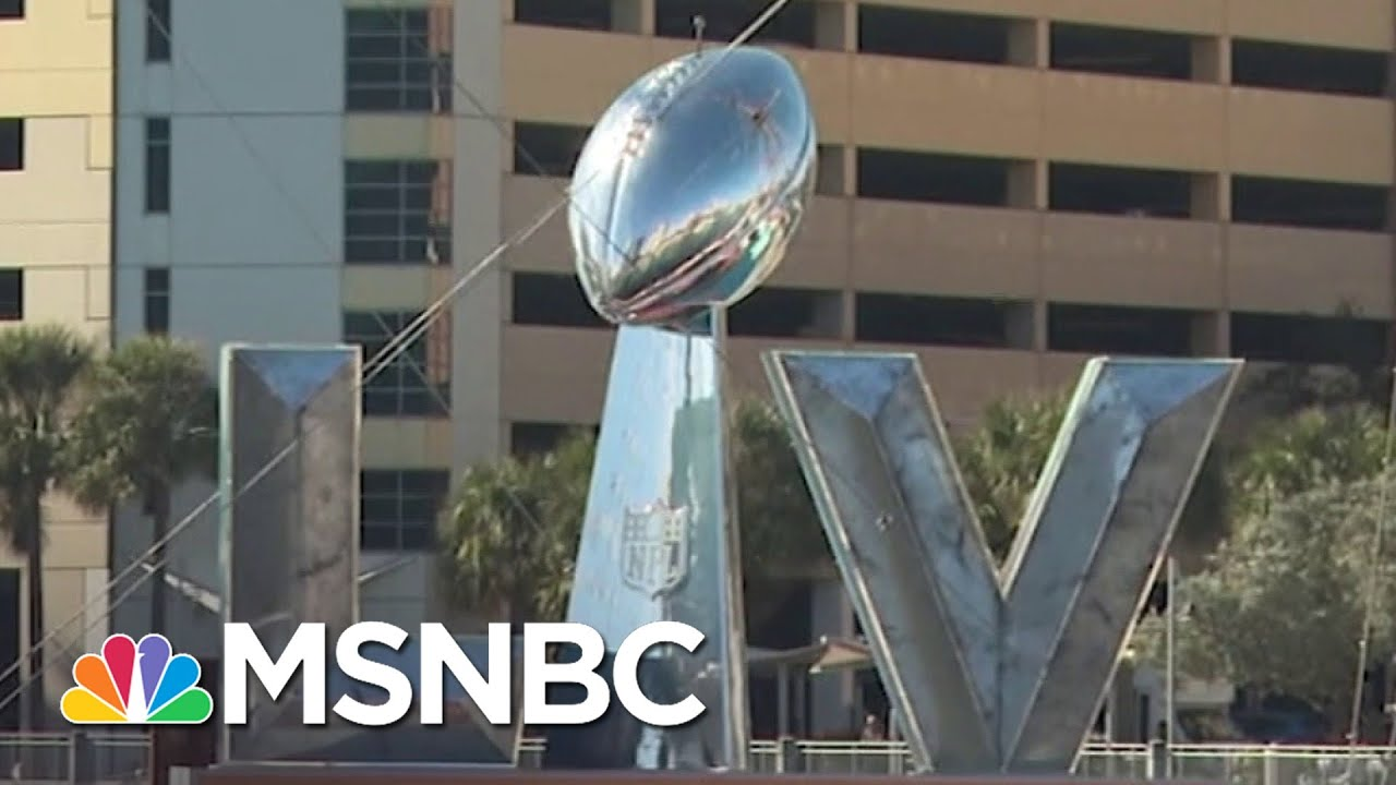 Super Bowl Party Fears Highlight Persistent Fears Of Getting The Covid Vaccination | MSNBC 1