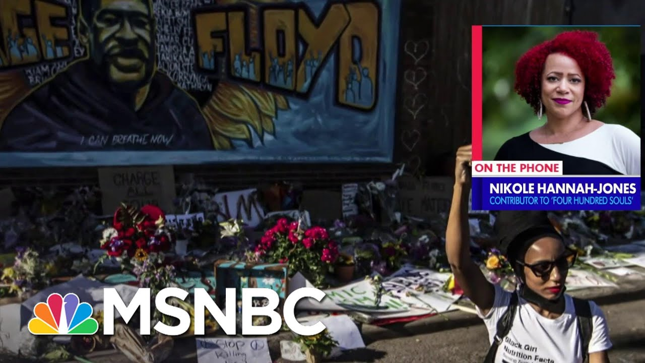 Nikole Hannah-Jones: The America in 1619 Is The Multiracial Country That We Are   MSNBC 1