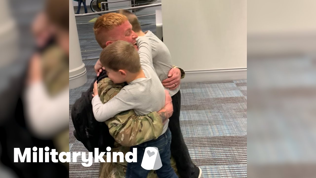 Airman's surprise sends kids' happiness sky high | Militarykind 1