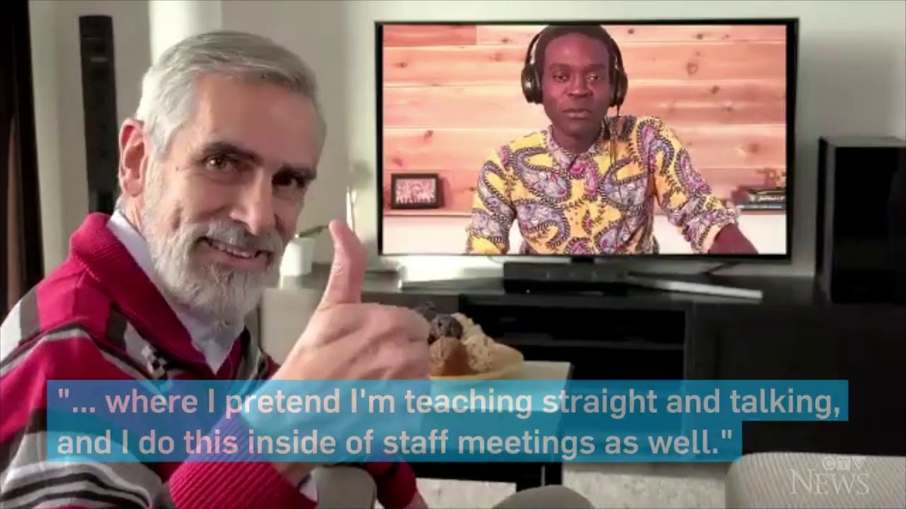 This professor gives his lessons by streaming on Twitch 1