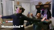'Frozen' dance-off interrupts a wedding proposal | Humankind 5