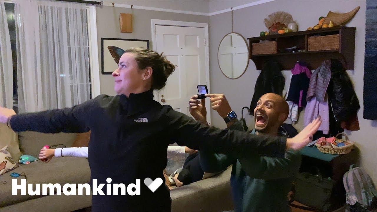 'Frozen' dance-off interrupts a wedding proposal | Humankind 7