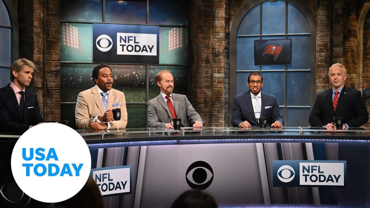 'SNL' tackles Super Bowl, Levy gets dad surprise | USA TODAY 8