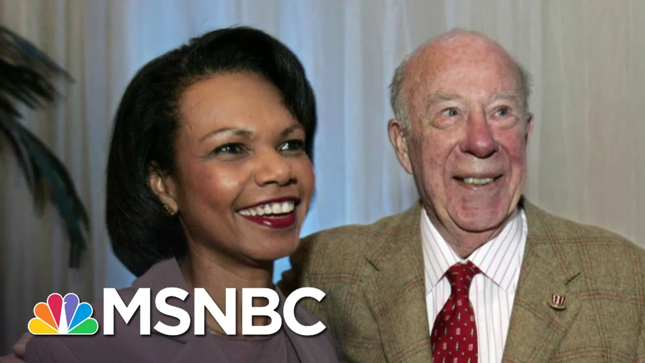 Condoleezza Rice Remembers George Shultz: 'We're All Better For The 100 Years That He Lived' 5