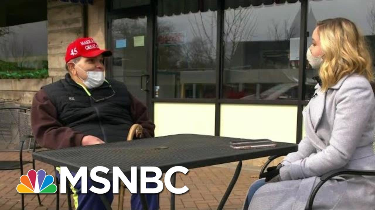 Some Voters In Western Pennsylvania Still See Trump As Future Of GOP   MTP Daily   MSNBC 1