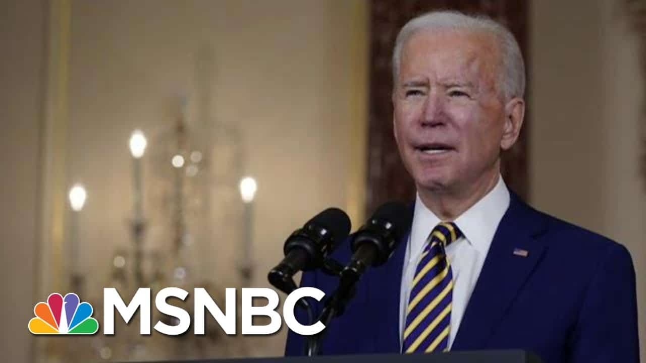 WH Trying To Stay Focused On Covid Relief As Trump Impeachment Trial Begins | MTP Daily | MSNBC 1