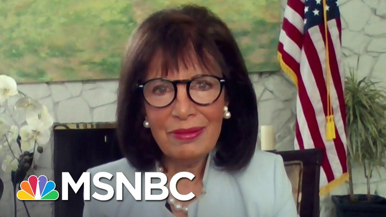 Rep. Speier: 'I Was Shaking' In The House Chamber On Jan. 6 | Andrea Mitchell | MSNBC 8