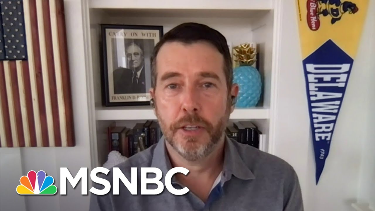 Plouffe: You Are Either On 'The Pro-Democracy Side Or The Pro-Autocracy Side' | Deadline | MSNBC 1
