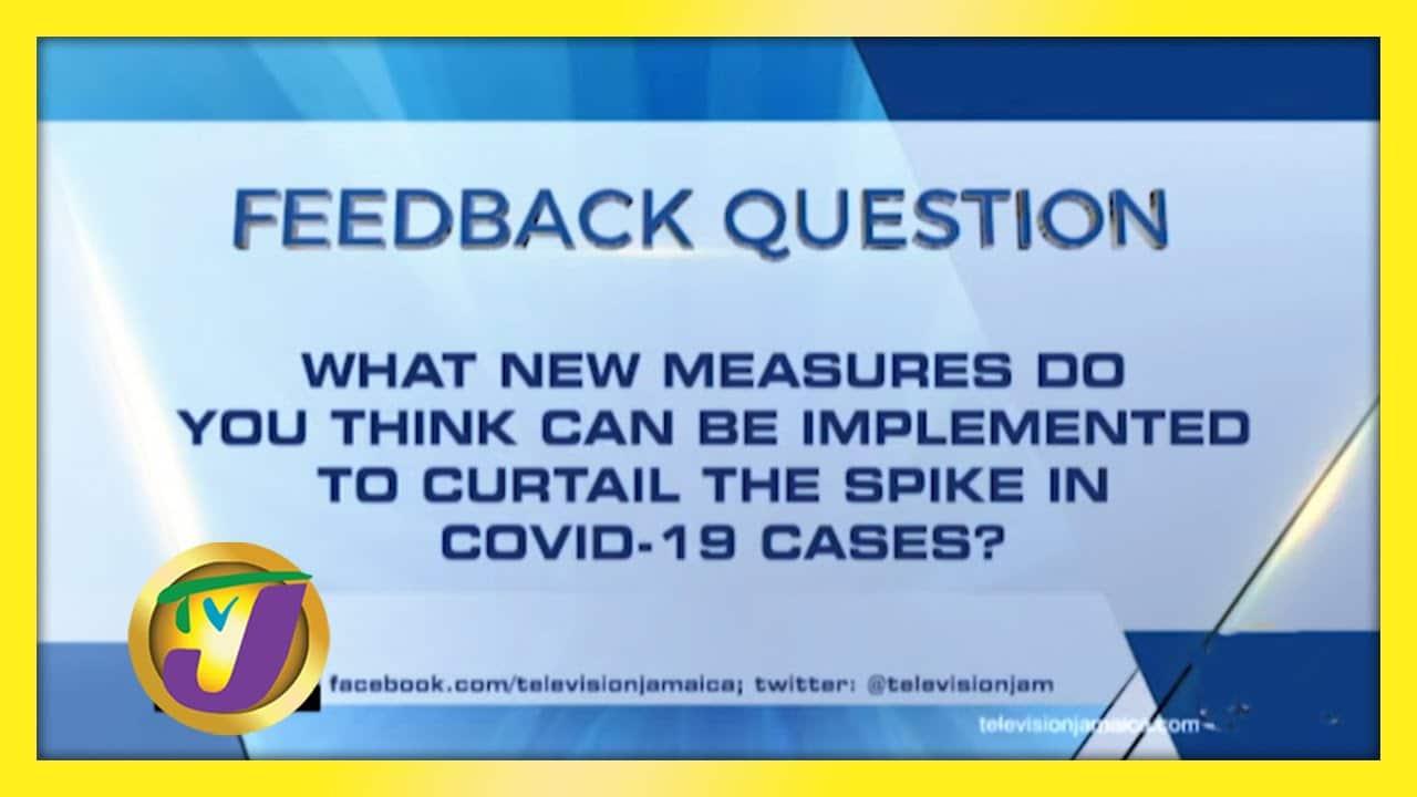 TVJ News: Feedback Question - February 5 2021 1